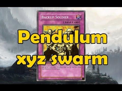 Pendulum XYZ Swarm style