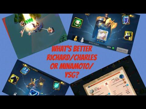 Rise Of Kingdoms-Whats Better Richard/Charles Or Minamoto/YSG?(LUXM CT)