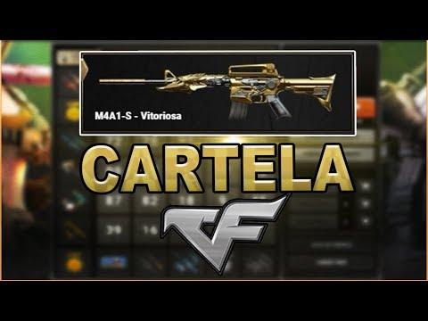Crossfire - Cartela CF | Em Busca da M4A1-Vitoriosa! BINGO!!!