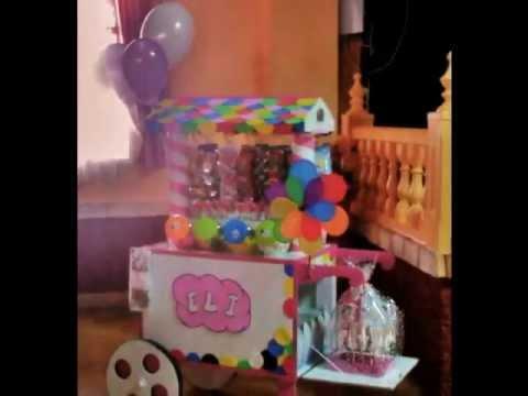 Carritos de chuches youtube for Carritos chuches comunion