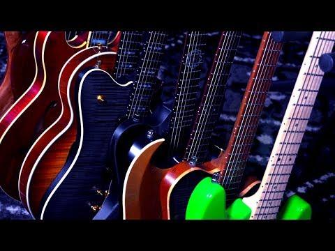 Famous Guitar Intros on 9 Master-Built Guitars