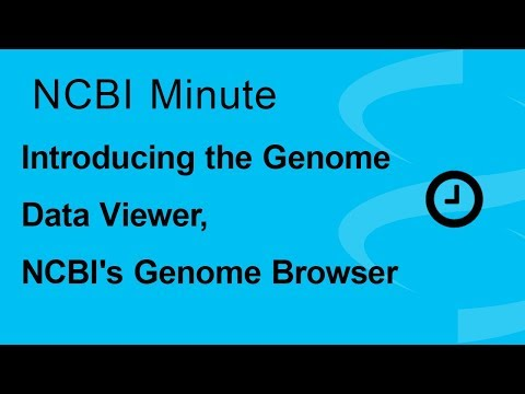 NCBI Minute: Introducing the Genome Data Viewer, NCBI