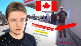КОРОНАВИРУС В КАНАДЕ - СТРОГИЕ ПРАВИЛА И ОГРАНИЧЕНИЯ | Виктория Британская Колумбия Канада