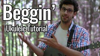 Beggin' (Ukulele Tutorial) - Måneskin, Frankie Valli & EASIEST VERSION
