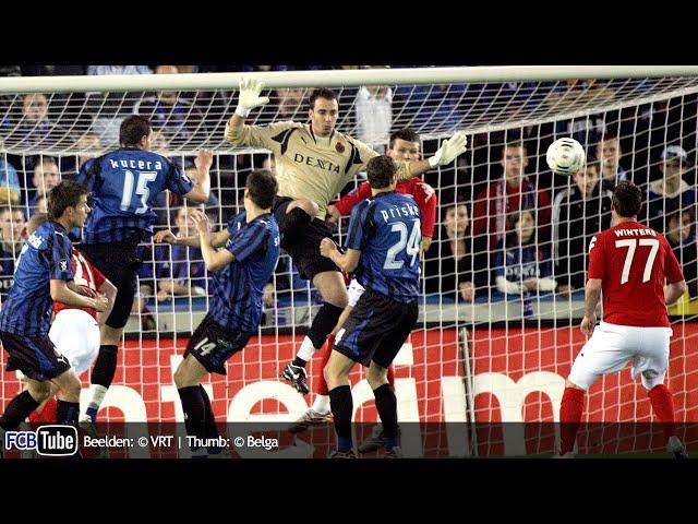 2007-2008 - UEFA-Cup - 02. 1ste Ronde - Club Brugge - SK Brann Bergen 1-2