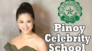TOP 10 | Pinoy Celebrities School