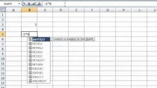 Wie Sie eine Formel in einer Excel-Tabelle