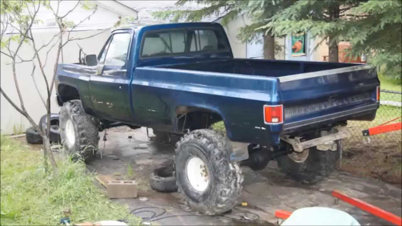 chevy 4x4 truck build youtube. Black Bedroom Furniture Sets. Home Design Ideas