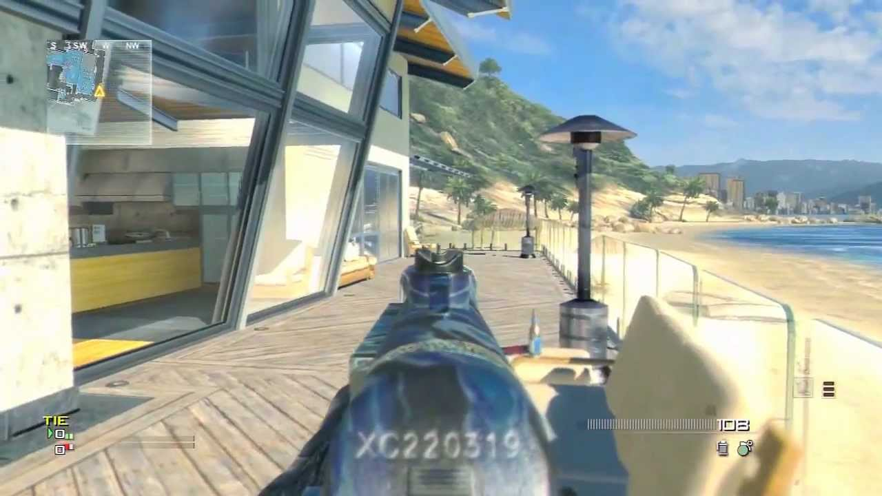 New MW3 DLC Map Pack Guide - GETAWAY - Face off Map!