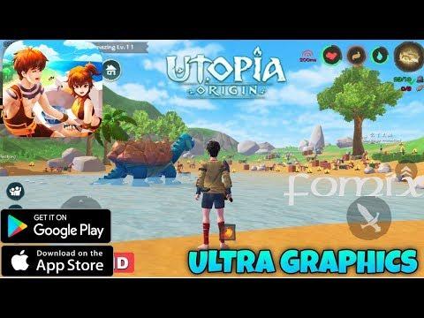 Utopia: Origin - невероятная выживалка с крафтом (Android Ios)
