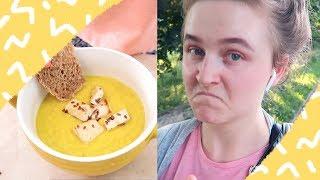 Вспоминаю детство и готовлю крем-суп | 3.06 VLOG