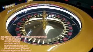 Roulette wheel, luxury