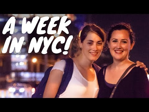 WE FINALLY MET IN PERSON! A week in NYC