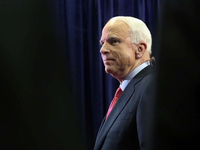 John McCain's complicated relationship with President Trump