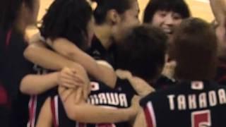 世界バスケ2010女子 JPN vs ARG ブザービート