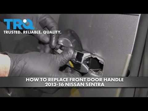 How to Replace Front Door Handle 2013-16 Nissan Sentra