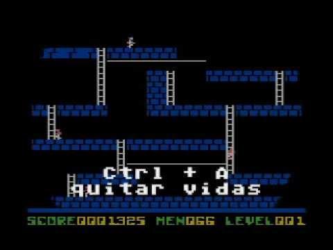 Lode Runner - todos los trucos para Atari 8-bits