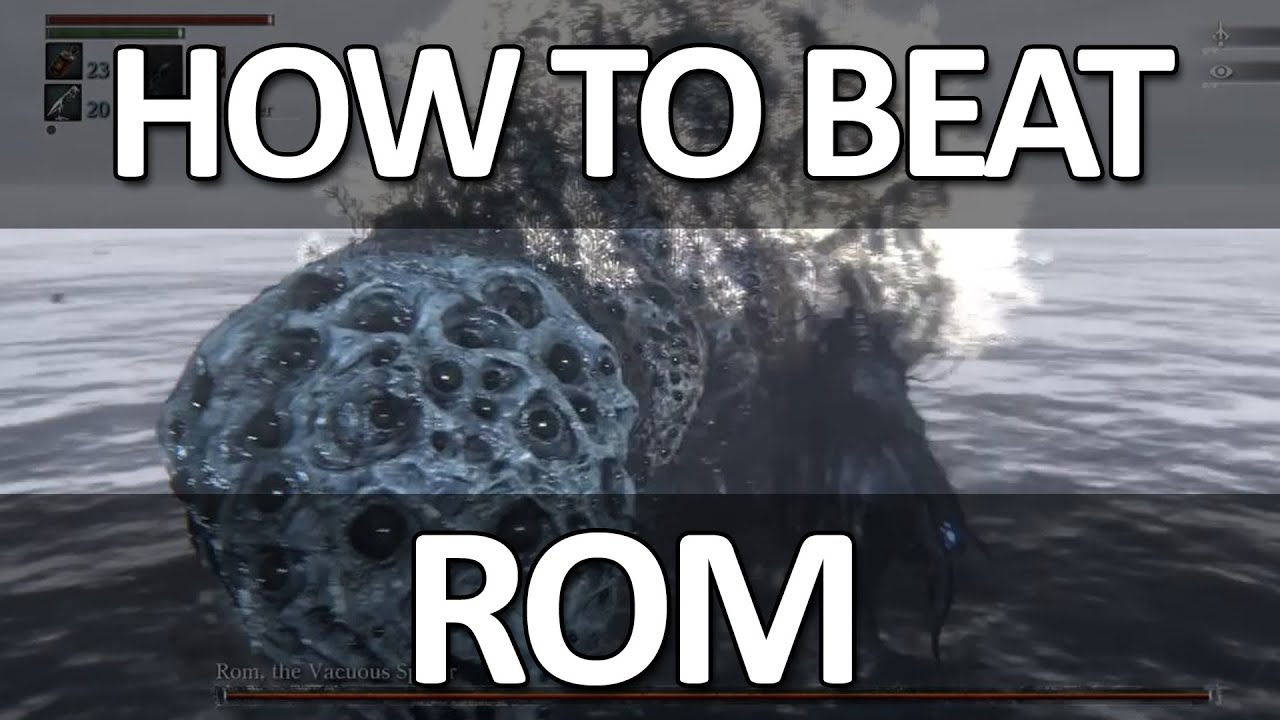 Bloodborne - Rom, the Vacuous Spider Easy Kill