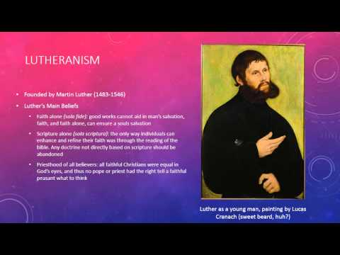 The Branches of Protestantism