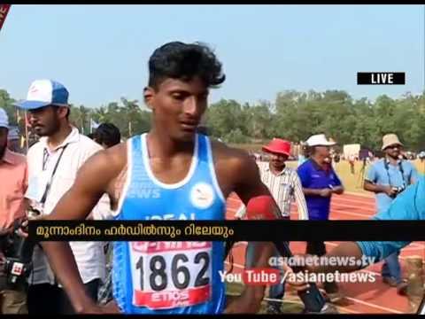 Kerala School Sports Meet : 110 meters hurdles winner response