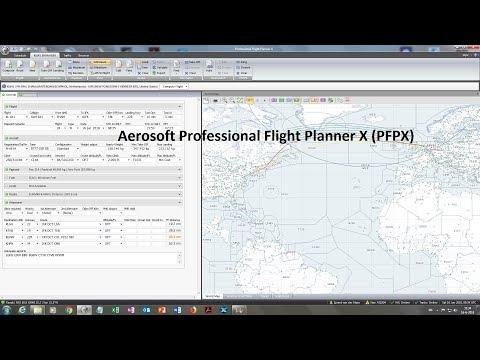 Aerosoft Professional Flight Planner X (PFPX)