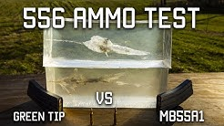 556 Ammo Test | Green Tip VS M855A1 | Tactical Rifleman
