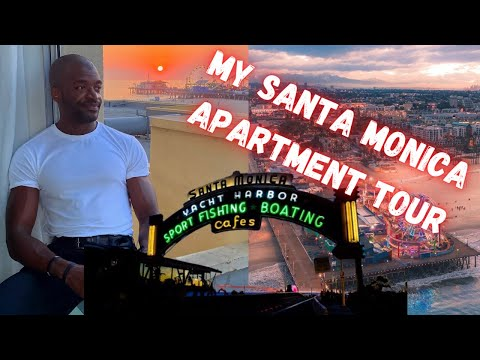 LA APARTMENT TOUR ! BEACH FRONT LIVING IN SANTA MONICA ! How much does it cost?