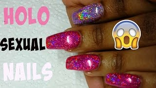 HOW TO: HOLOSEXUAL Nails