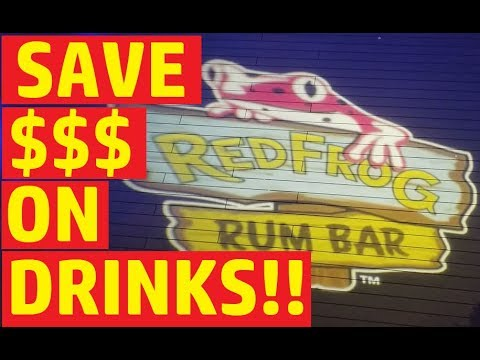 Carnival Cruise Red Frog Rum Bar Drinks MENU And Tips!!
