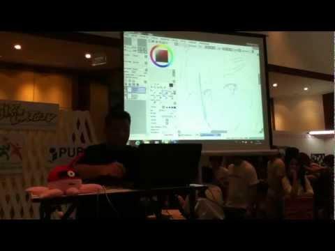 Speed Drawing by Butter-T [งานสัปดาห์หนังสือ ครั้งที่ 41]