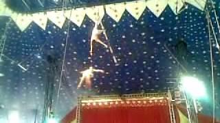 Trapezio circo Hakner