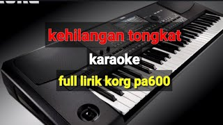 Download Dangdut Kehilangan Tongkat karaoke korg pa600