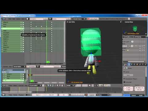 Blender Game Engine: Simple Character