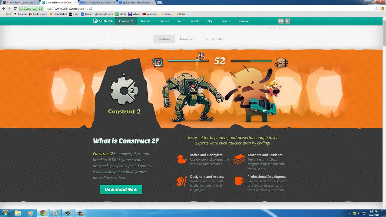 Construct 2 background image - Platform Game Development W Construct 2 1 Adding The Background Youtube