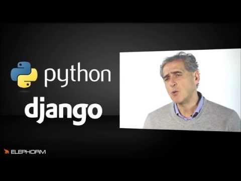 Présentation de la formation Python/Django