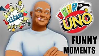 KEEPIN IT CLEAN BOYS!! - Uno Gameplay Funny Moments