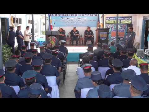 Turn over of Command of the PNP MG  May 18, 2017