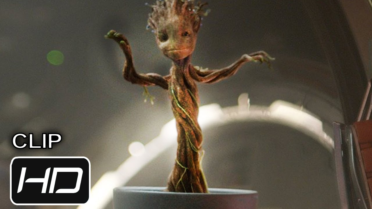 Guardians Of The Galaxy Clip Baby Groot Hd Youtube