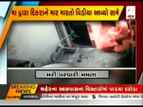 SHOCKING: Mother brutally beats her child in Delhi video goes viral ॥ Sandesh News