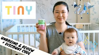 Unboxing and Trying Out Tiny Organics Baby Food   Tiny Organics $20 Discount Code