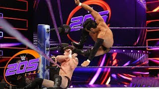 Hideo Itami vs. Trent Newman: WWE 205 Live, Aug. 14, 2018