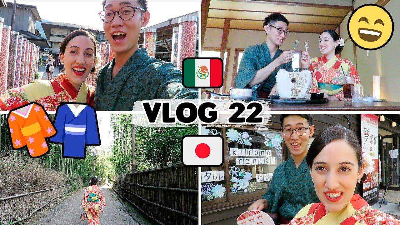😍 CITA EN KIMONO... UN DÍA DE VERANO EN KIOTO, JAPÓN 👘 | Tania&Hayato