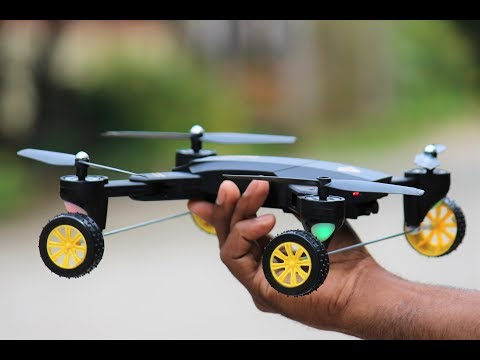 How To Make A Drone Car At Home - Flying Car