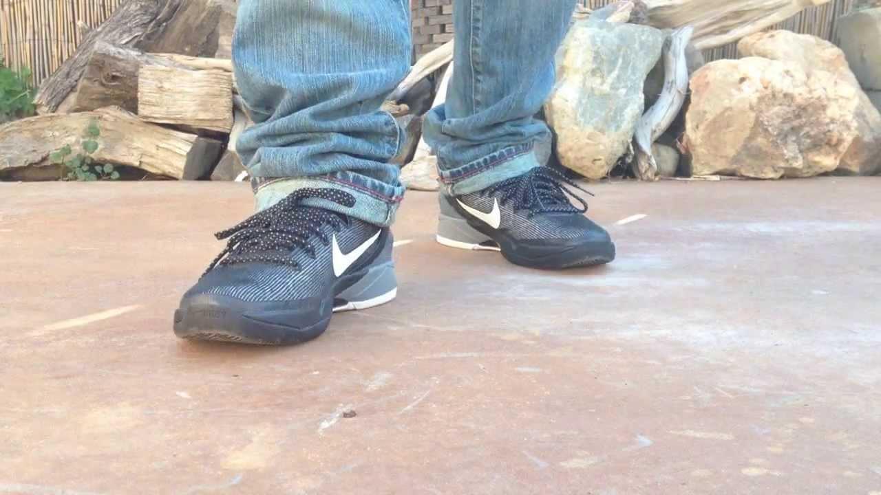 low priced fa6b2 bba38 Nike Kobe 7 Wolf Grey on feet