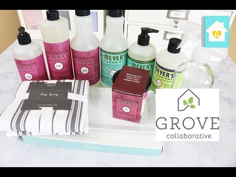 grove collaborative unboxing first impression natural cleaning products youtube. Black Bedroom Furniture Sets. Home Design Ideas