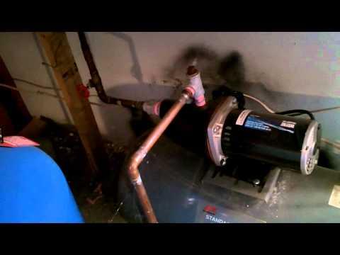 cistern hookup