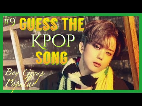 #9 Guess The Kpop Song-(Boy Group ver.) [Popular/NewEdition]