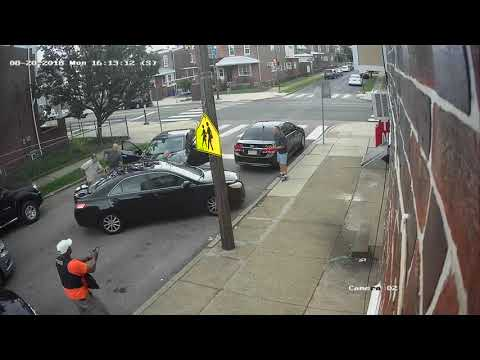Mob style hit from the Philadelphia Police on unarmed Black man