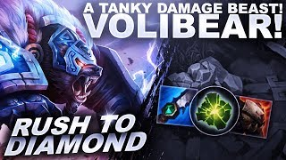 VOLIBEAR IS A BEAST AND HE'S GETTING A REWORK? - Rush to Diamond | League of Legends