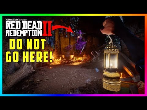 There's A Witch In Red Dead Redemption 2! DO NOT Drink From Her Cauldron Or This Will Happen To You!